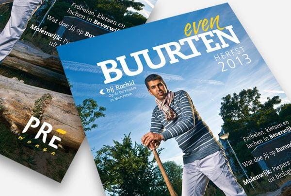 Pre Wonen magazine Even Buurten